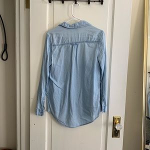 Nordstrom Tops - Nordstrom Chambray Blue Top S